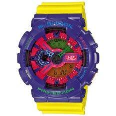 ขาย Casio G Shock นาฬิกาข้อมือ สีม่วง เหลือง สายเรซิน รุ่น Ga 110Hc 6A ถูก ใน เชียงใหม่