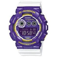 ราคา Casio G Shock นาฬิกาข้อมือ สีม่วง สายรเซิ่น รุ่น Gd 120Cs 6 Limited Edition Casio G Shock ออนไลน์
