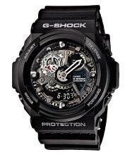 ซื้อ Casio G Shock ผู้ชายสีดำยางรัดนาฬิกา Ga 300 1 Free Size ออนไลน์