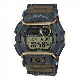 ส่วนลด Casio G Shock ผู้ชายสีน้ำตาลมียางรัดนาฬิกา Gd 400 9 Casio G Shock