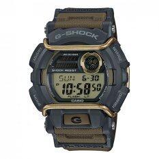 Casio G Shock ผู้ชายสีน้ำตาลมียางรัดนาฬิกา Gd 400 9 ถูก