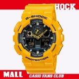 ราคา Casio G Shock นาฬิกาข้อมือ นาฬิกาข้อมือผู้ชาย สายเรซิน รุ่นRubber รุ่น Ga 100A 9Adr Yellow Casio G Shock เป็นต้นฉบับ