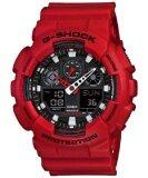 ซื้อ Casio G Shock รุ่น Ga 100B 4Adr สีแดง ออนไลน์ ไทย