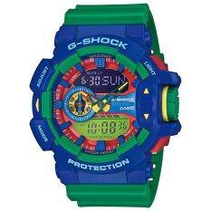 ราคา Casio G Shock รุ่น Ga 400 2A Blue Green เป็นต้นฉบับ