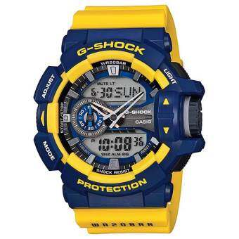 Casio G-Shock รุ่น GA-400-9B Limited Color - Yellow/Blue