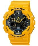 ส่วนลด Casio G Shock สายเรซิ่น รุ่น Ga 100A 9Adr สีเหลือง ไทย
