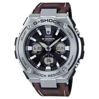 นาฬิกาข้อมือ Casio G-shock Tough Solar GST-S120L GST-S120L-1 GST-S120L-1B-