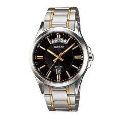 ราคา Casio Gent Quartz นาฬิกาข้อมือผู้ชาย Silver Resin Strap รุ่น Mtp 1381G 1Avdf ออนไลน์