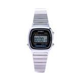 ราคา Casio นาฬิกาข้อมือผู้หญิง รุ่น La670Wa 1Sdf สีเงิน ออนไลน์