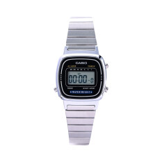 ส่วนลด Casio นาฬิกาข้อมือผู้หญิง รุ่น La670Wa 1Sdf สีเงิน Casio