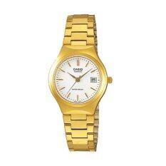 ซื้อ Casio Lady นาฬิกาข้อมือ รุ่น Ltp 1170N 7A Gold ถูก ใน Thailand