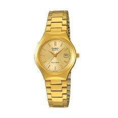 ขาย Casio Lady นาฬิกาข้อมือ รุ่น Ltp 1170N 9A Gold เป็นต้นฉบับ