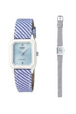 ขาย ซื้อ Casio Lq 142Lb 2A2 นาฬิกาผู้หญิง สายหนัง รับประกันศูนย์ 1 ปี ใน สงขลา