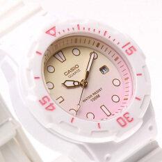 ขาย Casio นาฬิกาข้อมือผู้หญิง รุ่น Lrw 200H 4E2Vdr สีขาว