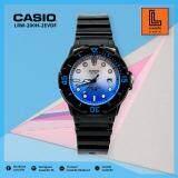ซื้อ นาฬิกาข้อมือ Casio รุ่น Lrw 200H Standard นาฬิกาข้อมือผู้หญิง สายเรซิ่น ถูก ใน กรุงเทพมหานคร