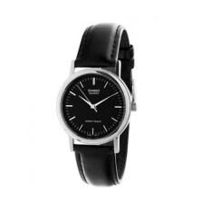 ราคา Casio นาฬิกาข้อมือผู้หญิง รุ่น Ltp 1095E 1Adf สีดำ Black เป็นต้นฉบับ