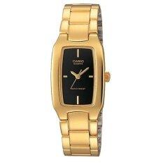 ขาย Casio นาฬิกาข้อมือผู้หญิง สีทอง สายสเตนเลส ร่ึน Ltp 1165N 1Crdf Casio ออนไลน์