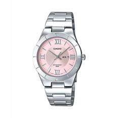 ขาย Casio นาฬิกาข้อมือผู้หญิง สายสแตนเลส รุ่น Ltp 1410D 4A Silver Pink รับประกันศูนย์ 1 ปี ของแท้ ออนไลน์