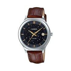 ราคา Casio นาฬิกาข้อมือผู้หญิง รุ่น Ltp E141L 1Avdf สีน้ำตาล