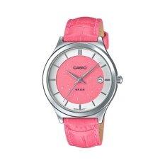ขาย Casio นาฬิกาข้อมือผู้หญิง รุ่น Ltp E141L 4A2Vdf สีชมพู