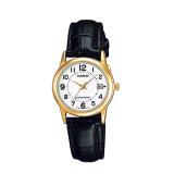 Casio นาฬิกาข้อมือผู้หญิง รุ่น Ltp V002Gl 7Budf สีดำ Casio ถูก ใน สมุทรปราการ