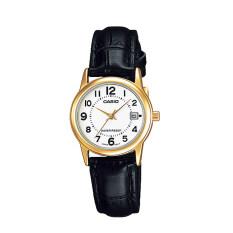 ราคา Casio นาฬิกาข้อมือผู้หญิง รุ่น Ltp V002Gl 7Budf สีดำ ใน สมุทรปราการ