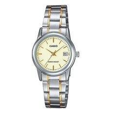 ขาย Casio นาฬิกาข้อมือ ผู้หญิง สายสแตนเลส รุ่น Ltp V002Sg 9Audf ราคาถูกที่สุด