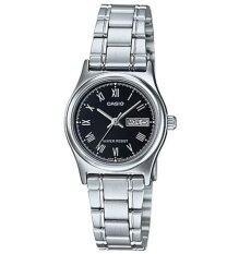 ราคา Casio นาฬิกาข้อมือผู้หญิง รุ่น Ltp V006D 1Budf สีเงิน Casio ออนไลน์