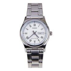 ราคา Casio นาฬิกาข้อมือ สายสแตนเลส รุ่น Ltp V006D 7Budf ใหม่ ถูก