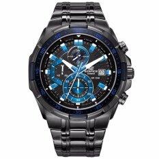 ราคา Casio Men S Classic Fashion Quartz Watch Male Luxury Waterproof Sport Steel Watch Efr 539Bk 1A2V Intl ใน จีน
