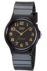 โปรโมชั่น Casio นาฬิกาข้อมือผู้ชาย สีดำ สายเรซิ่น รุ่น Mq 24 1B2Ldf