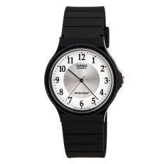 ซื้อ Casio นาฬิกาข้อมือ รุ่น Mq 24 7B3Ldf Black White ใน ไทย