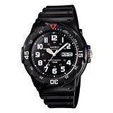 ซื้อ Casio นาฬิกาข้อมือ ผู้ชาย สายเรซินสีดำ รุ่น Mrw 200H 1B Black Casio ออนไลน์
