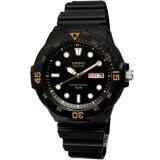 ซื้อ Casio นาฬิกาข้อมือผู้ชาย สีดำ สายเรซิ่น รุ่น Mrw 200H 1Evdf ออนไลน์ ถูก
