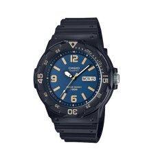 โปรโมชั่น Casio นาฬิกาข้อมือผู้ชาย รุ่น Mrw 200H 2B3Vdf สีดำ น้ำเงิน Casio ใหม่ล่าสุด