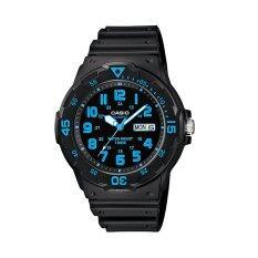 ขาย Casio นาฬิกาข้อมือ รุ่น Mrw 200H 2Bvdf สีดำ ฟ้า ราคาถูกที่สุด