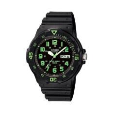 ราคา Casio นาฬิกาข้อมือผู้ชาย รุ่น Mrw 200H 3Bvdf สีดำ ถูก
