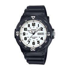 โปรโมชั่น Casio นาฬิกาข้อมือผู้ชาย รุ่น Mrw 200H 7Bvdf Black White ใน Thailand