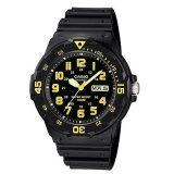 ราคา Casio นาฬิกาข้อมือผู้ชาย รุ่น Mrw 200H 9Bvdf Black Yellow ออนไลน์ ไทย