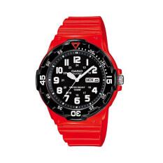 ขาย Casio นาฬิกาข้อมือผู้ชาย รุ่น Mrw 200Hc 4Bvdf สีแดง ดำ ไทย ถูก