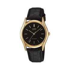ราคา Casio นาฬิกาข้อมือผู้ชาย รุ่น Mtp 1094Q 1A สีดำ Black เป็นต้นฉบับ Casio