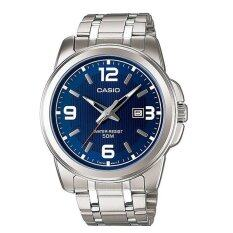 ราคา Casio นาฬิกาผู้ชาย สีเงิน สายสแตนเลส รุ่น Mtp 1314D 2Avdf ออนไลน์ นนทบุรี