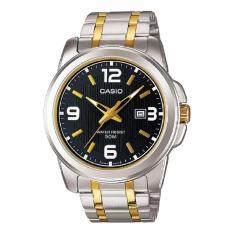 ซื้อ Casio นาฬิกาข้อมือผู้ชาย สายสแตนเลส รุ่น Mtp 1314Sg 1A Silver Gold รับประกันศูนย์ 1 ปี ของแท้ ถูก ใน สงขลา