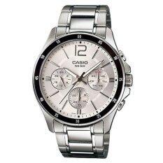 ส่วนลด นาฬิกาข้อมือผู้ชาย Casio สีเงิน สายสเเตนเลส รุ่น Mtp 1374D 7Avd Casio นนทบุรี