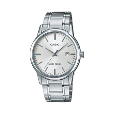 ส่วนลด Casio นาฬิกาข้อมือผู้ชาย รุ่น Mtp V002D 7Audf สีเงิน Casio