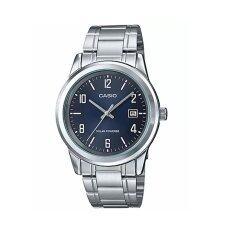 ราคา ราคาถูกที่สุด Casio นาฬิกาข้อมือผู้ชาย รุ่น Mtp Vs01D 2Bdf สีเงิน Silver