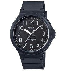 ซื้อ Casio นาฬิกา ข้อมือ รุ่น Mw 240 1Bvdf ฺblack Casio ถูก