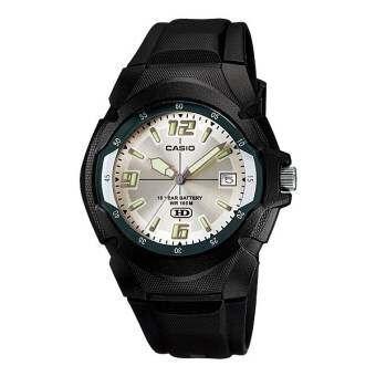 นาฬิกา รุ่น Casio นาฬิกาข้อมือ ผู้ชาย สายเรซินสีดำ รุ่น MW-600F-7A ( Black/Silver ) จากร้าน MIN WATCH