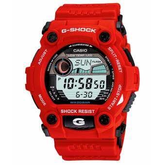 Casio นาฬิกา G-Sock G-7900A-4 (สีแดง)-
