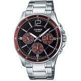 ทบทวน ที่สุด Casio นาฬิกา Gent Sport Mtp 1374D 5Avdf